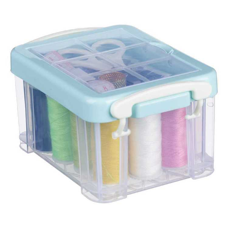 Plastic Sewing Box