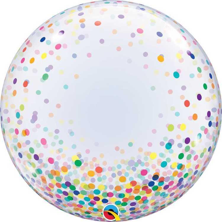 NYE Bubble Confetti Dots 61 cm