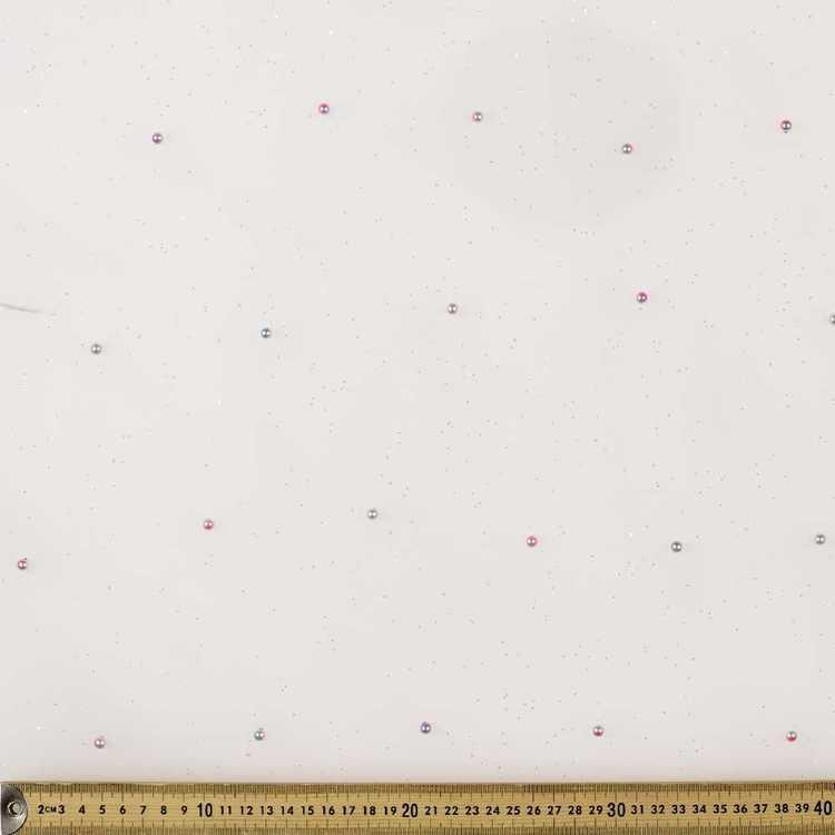Rainbow Pearl On Glitter 148 cm Fabric