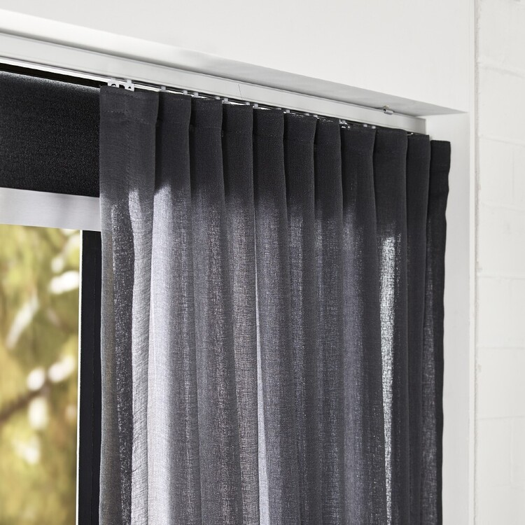 Hotel Collection Luxe S Fold Track With Hooks Satin