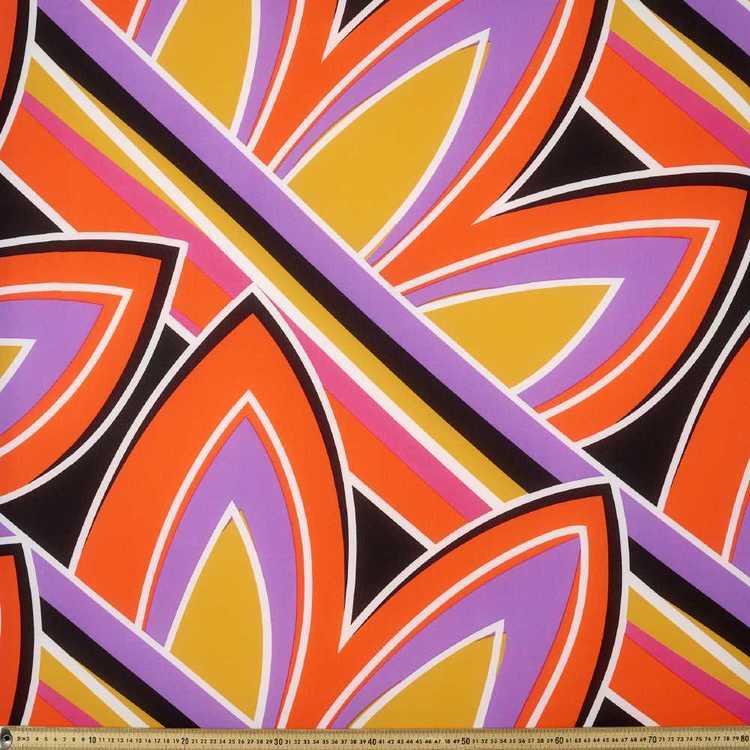 Brights #4 Printed 148 cm Georgette Fabric