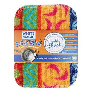 White Magic Scrubtastic Scrubber