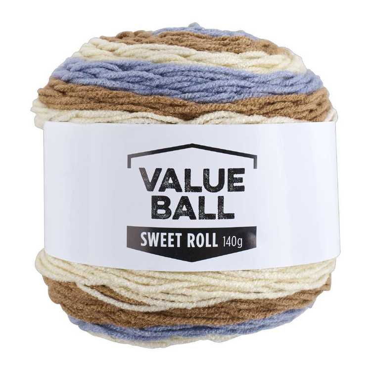 Value Ball Sweet Roll Acrylic Yarn