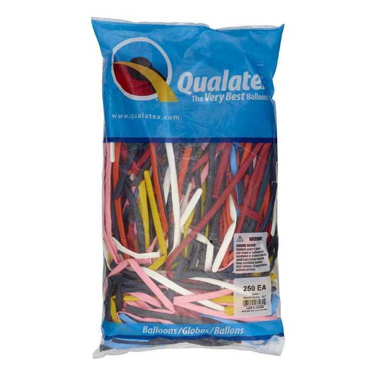 Qualatex 260Q Twisting Balloons 250 Pack