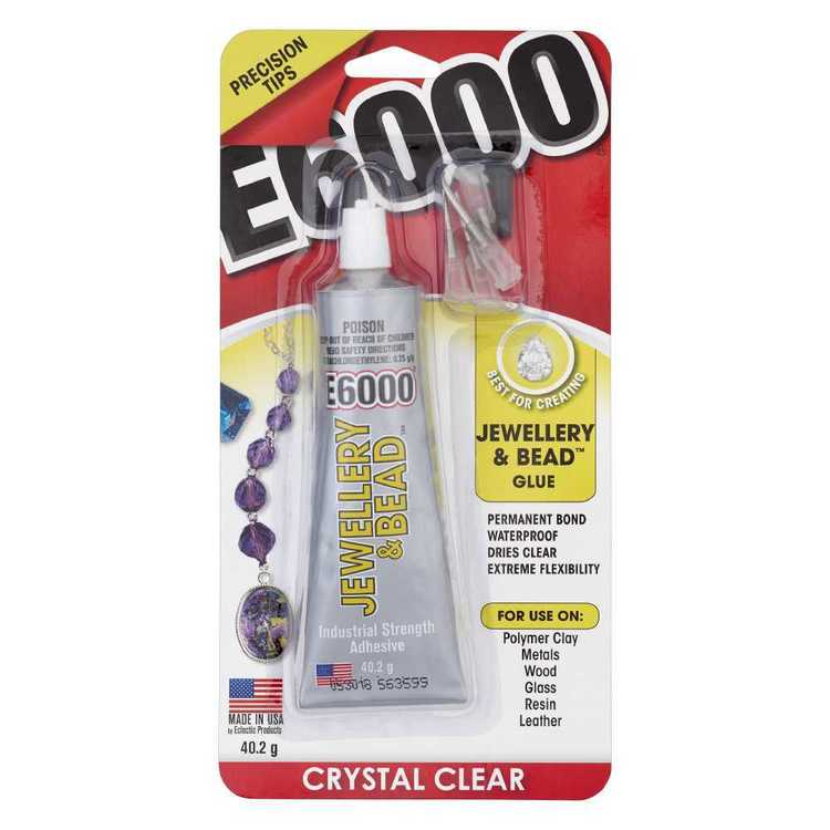 E6000 Crystal Clear Jewellery & Bead Glue