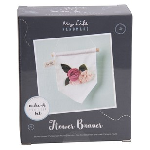 My Life Handmade DIY Flower Banner Mini Sewing Kit