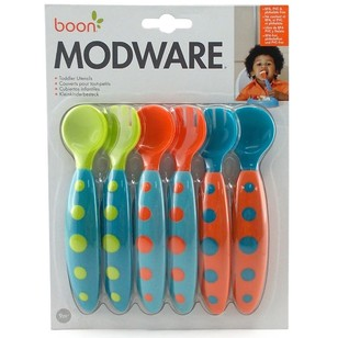 Boon Modware Boy Toddler Utensils