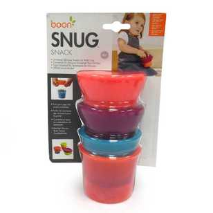 Boon Boy's Snug Snack - Two Cups and Two Lids