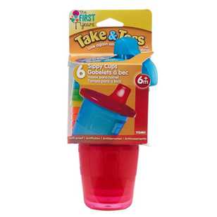 Take & Toss Pack of 6 Spill-Proof Cups