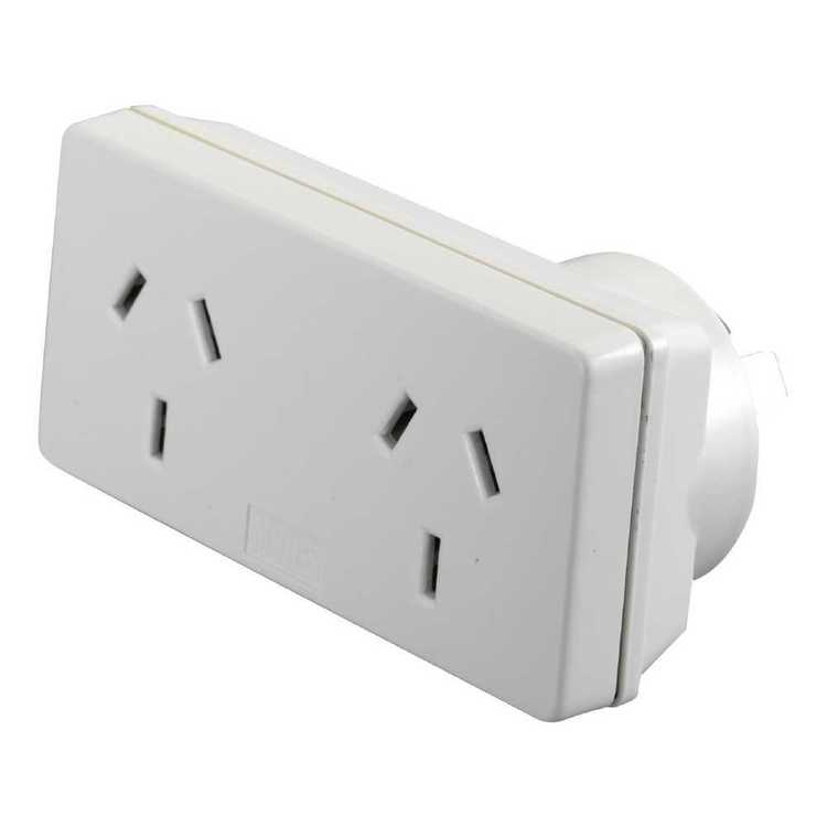 HPM Slimline Double Adaptor - Left Hand