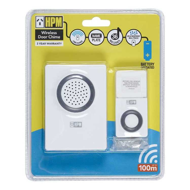HPM Wireless Door Chime