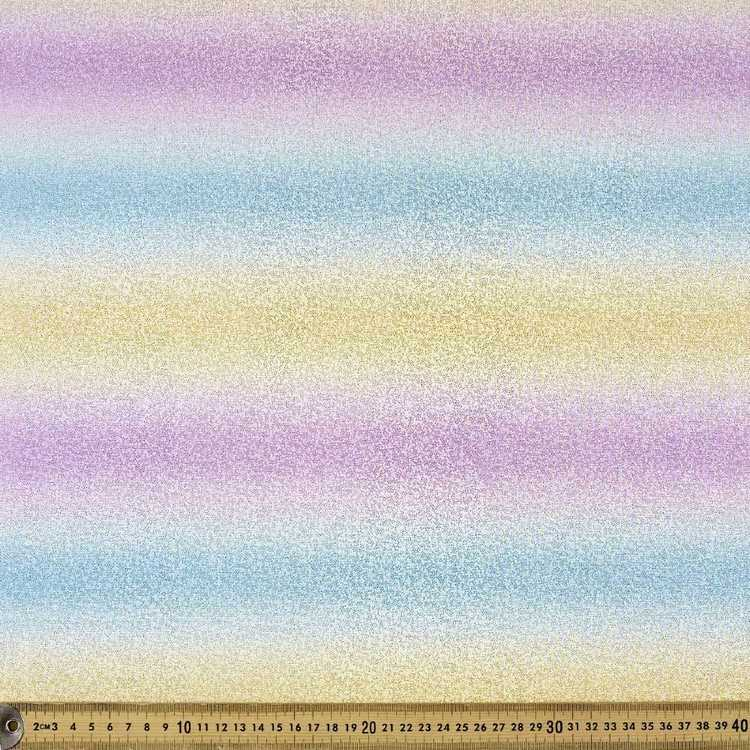 Polyester Interlock Rainbow 148 cm Fabric