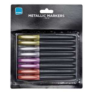 Smash Metallic Marker Pens Assorted Pack