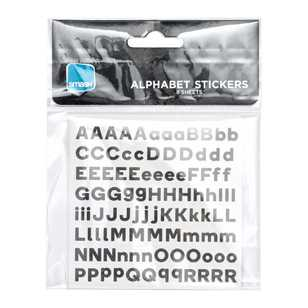 Smash Small Alphabets & Numbers Stickers