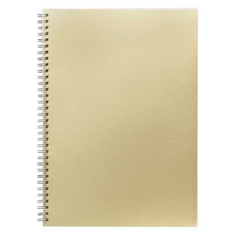 Smash Wiro Gold Cover A4 Notebook