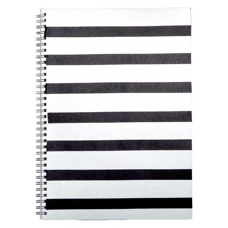 Smash Wiro Silver Cover A4 Notebook