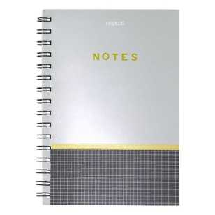 Smash Wiro Silver Cover A5 Notebook
