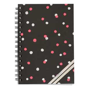 Smash Wiro Black Cover A5 Notebook