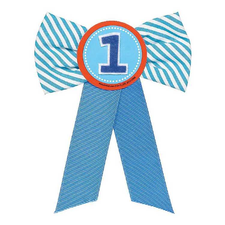 Amscan 1st Birthday Boys Award Ribbon