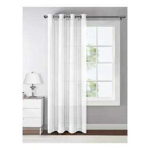 Gracey Eyelet Sheer Curtain