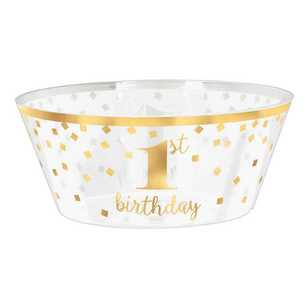 Amscan 1st Birthday Plastic Serving Bowl