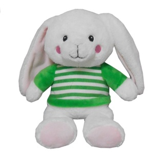 "Daisy Chain 8.5"" Plush Bunny with Sweater"