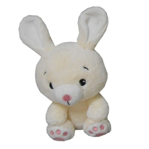"Daisy Chain 8.5"" Plush Bunny with Bendy Ears"
