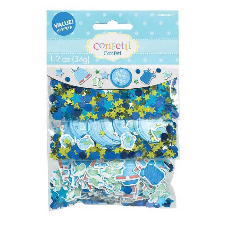 Amscan Shower With Love Boys Value Confetti