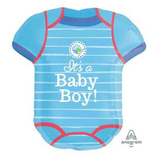 Amscan Shower With Love Boys Romper Foil Balloon