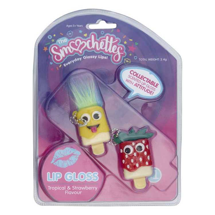Smoochettes Collectable Lip Gloss 2 Pack