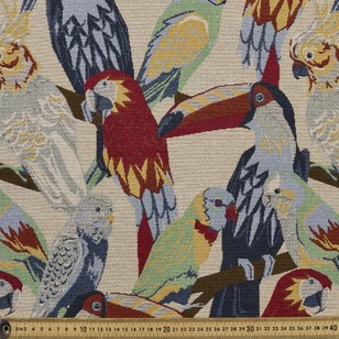 Jungle Birds Tapestry Fabric