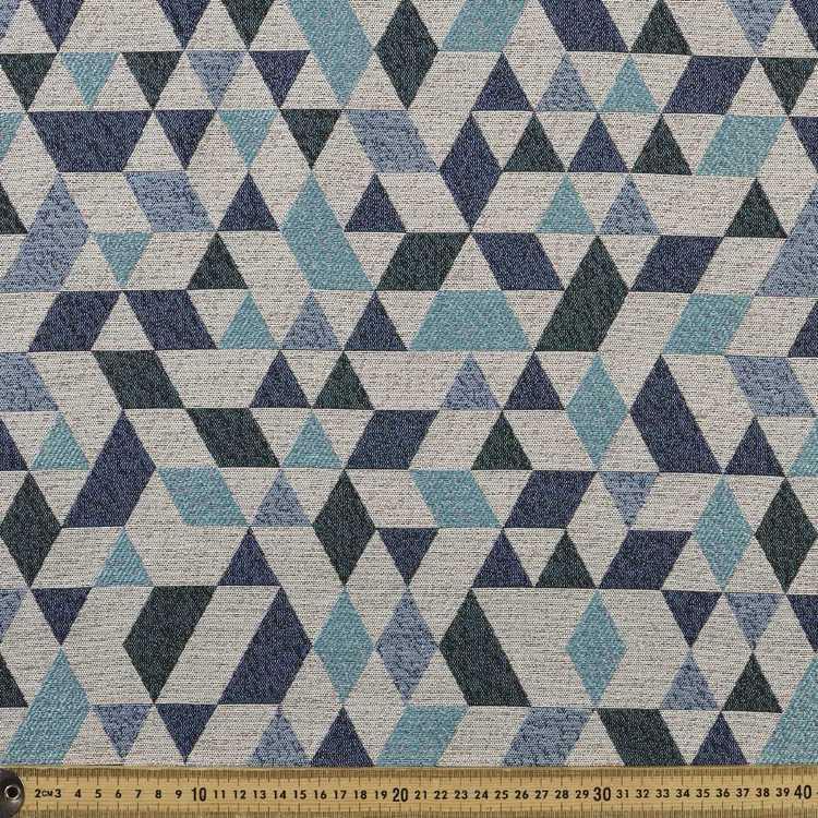 Geo Diamond Jacquard Upholstery Fabric