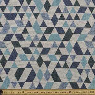 Geo Diamond Jacquard Upholstery Fabric