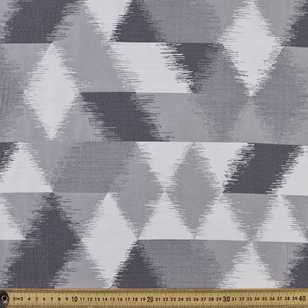 Distressed Geo Jacquard Upholstery Fabric