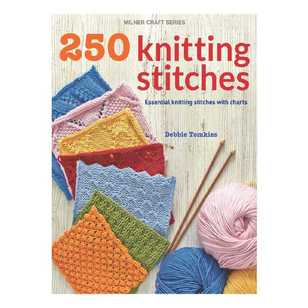 Sally Milner Publishing 250 Knitting Stitches