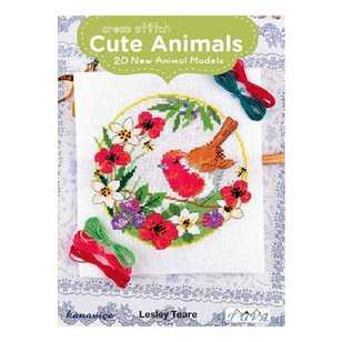 Cross Stitch Cute Animals - Lesley Teare
