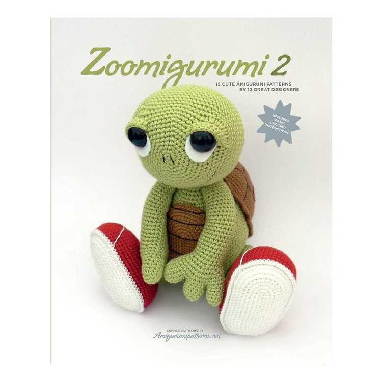 Zoomigurumi 2 Amigurumi Pattern Book Multicoloured