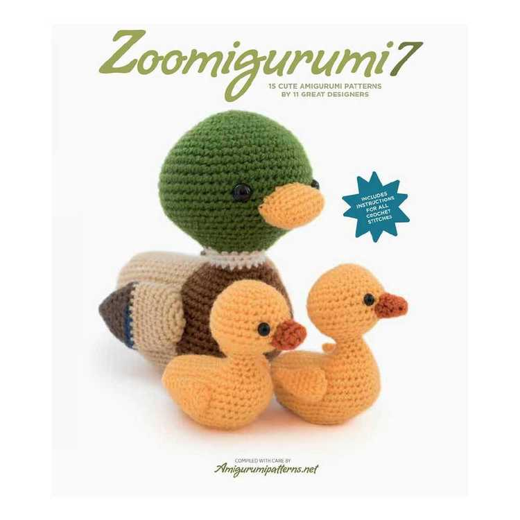 Zoomigurumi 7 Amigurumi Pattern Book Multicoloured