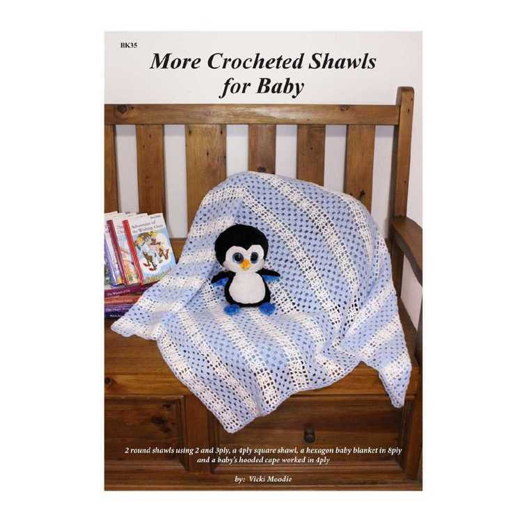 More Crocheted Shawls For Baby - Vicki Moodie