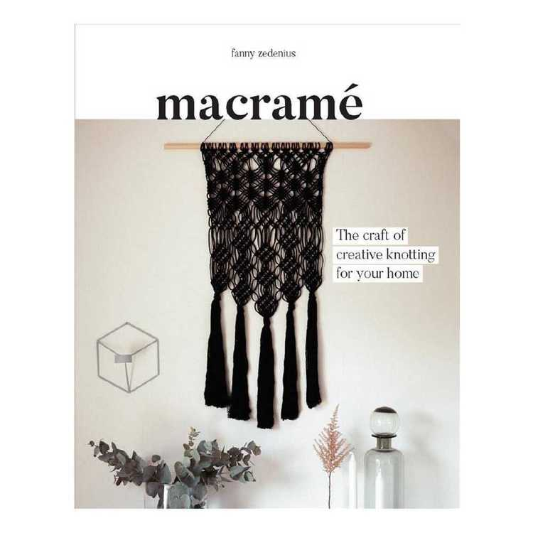 Macrame: The Craft Of Creative Knotting For Your Home Multicoloured