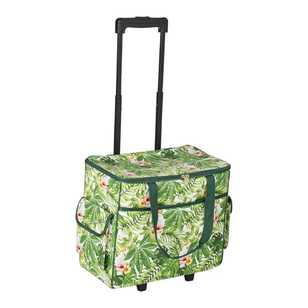 Semco Parrots Printed Trolley Bag