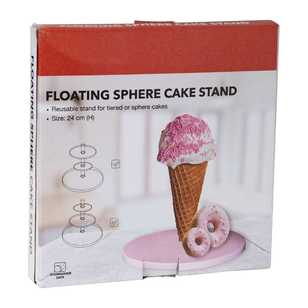 Floating Sphere Cake Stand