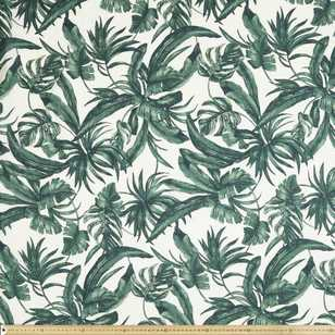 Palm Villa Printed Voile Fabric