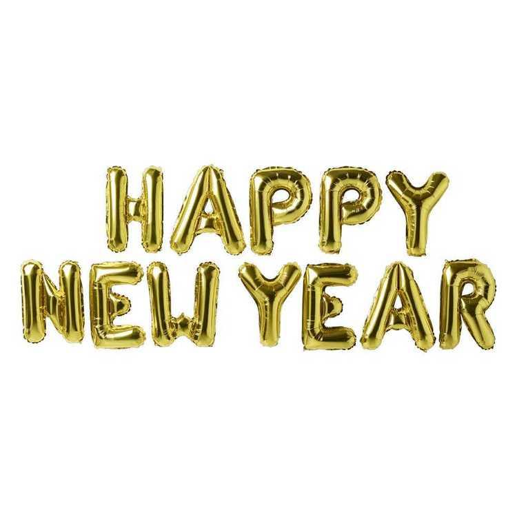 Happy New Year Balloons 10