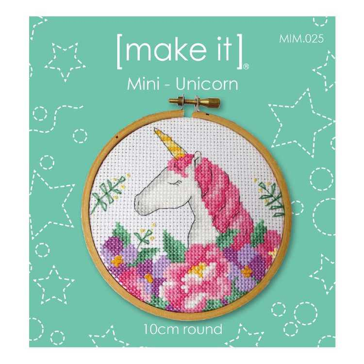 Make It Unicorn Cross Stitch Kit