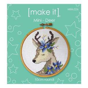 Make It Deer Cross Stitch Kit