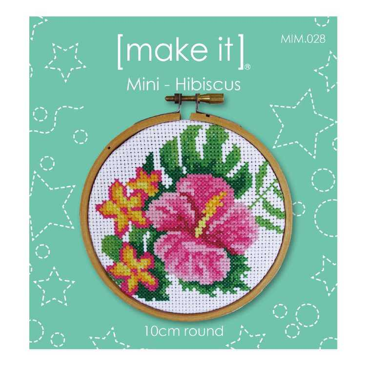 Make It Hibiscus Cross Stitch Kit