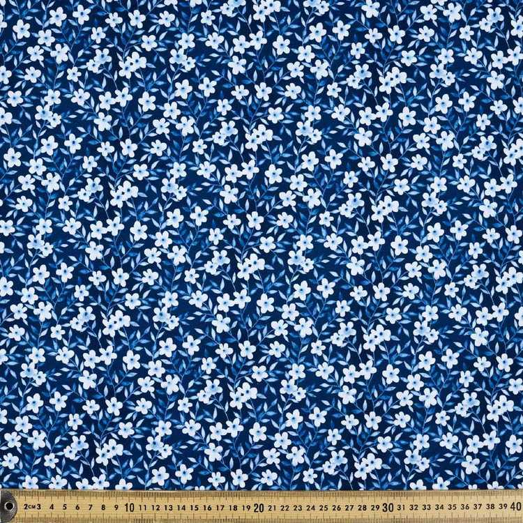 Nature Walk Small Flowers Cotton Fabric