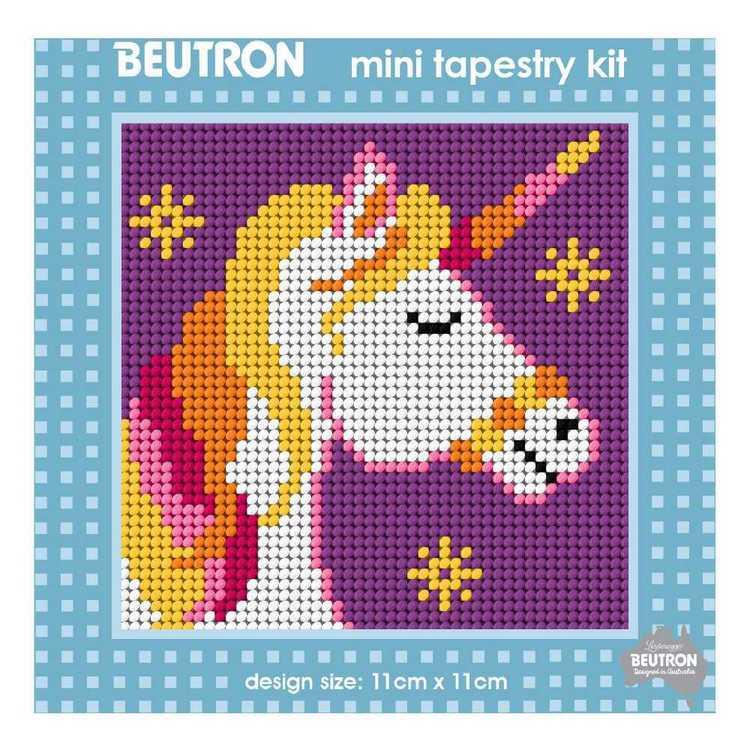 Beutron Unicorn Mini Tapestry Kit