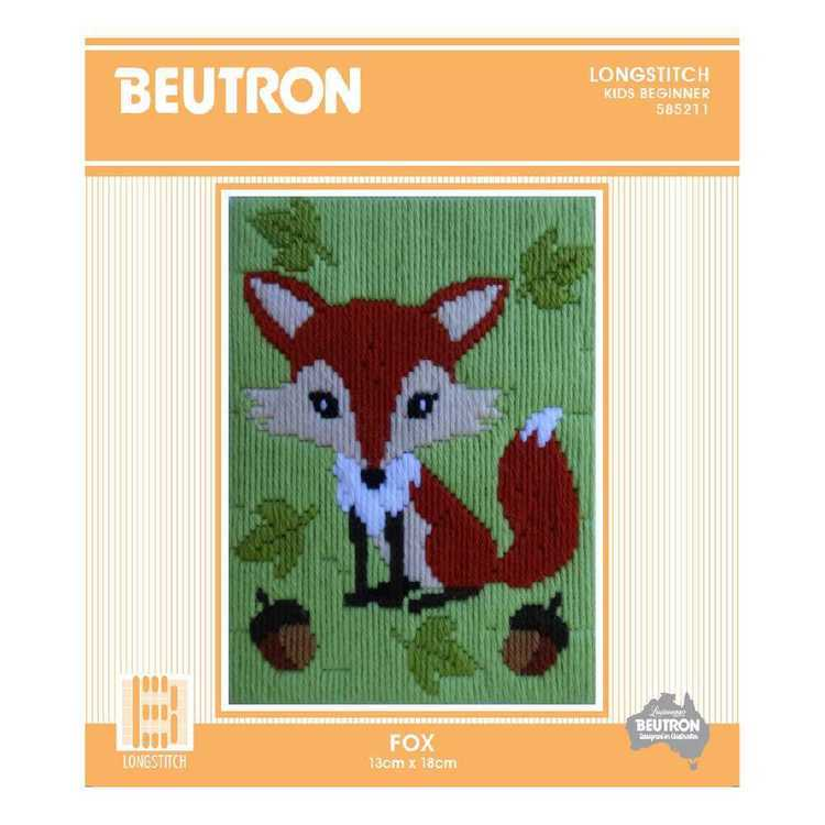Beutron Fox Embroidery Kit